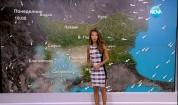Прогноза за времето за 25 август