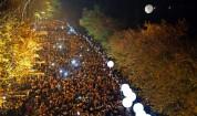 7000 балона в небето по случай падането на Берлинската стена