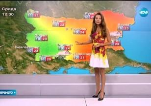 Прогноза за времето (26.05.2015 - централна)