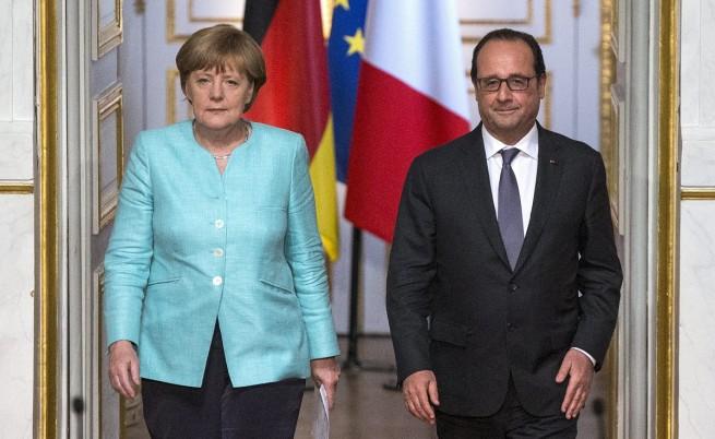 Ангела Меркел и Франсоа Оланд