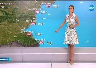 Прогноза за времето (30.07.2015 - обедна)