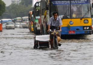 Мусонните дъждове в Индия и Мианмар