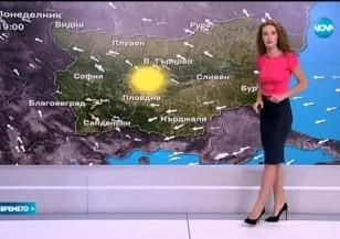 Прогноза за времето (31.08.2015 - обедна)