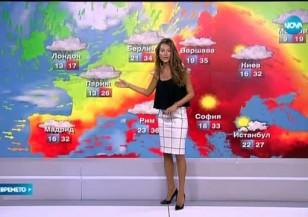 Прогноза за времето (31.08.2015 - централна)
