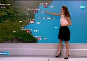 Прогноза за времето (01.09.2015 - обедна)