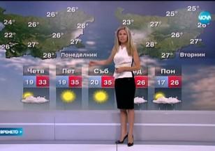 Прогноза за времето (02.09.2015 - централна)