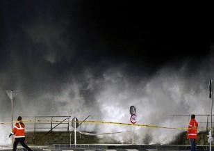 """Бурята """"Имоджен"""" през Западна Европа"""