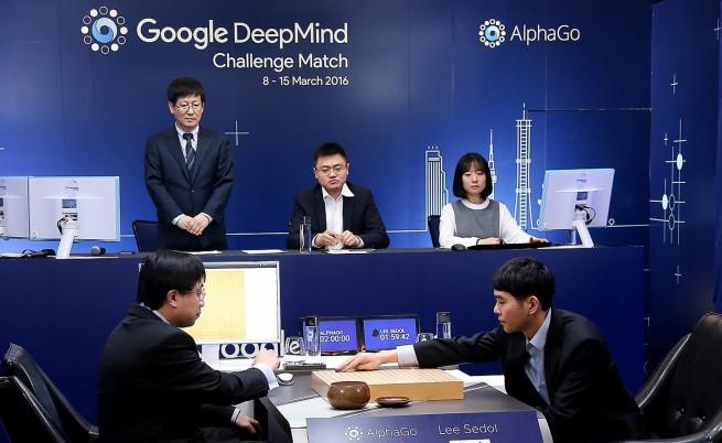 АлфаГо срещу Седол Ли
