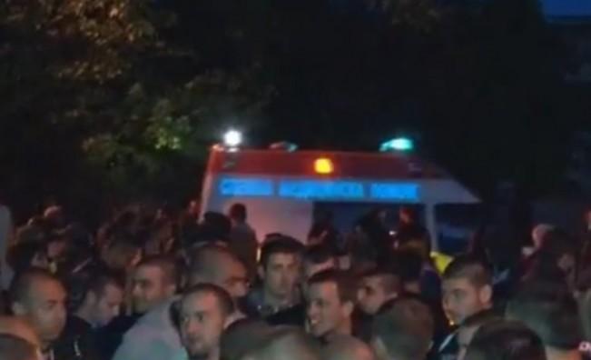 Сблъсъци в Раднево, има ранени