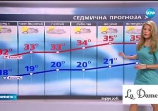 Прогноза за времето (27.07.2016 - обедна)