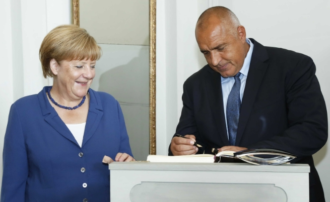 Бойко Борисов се срещна с канцлера на Германия Ангела Меркел.