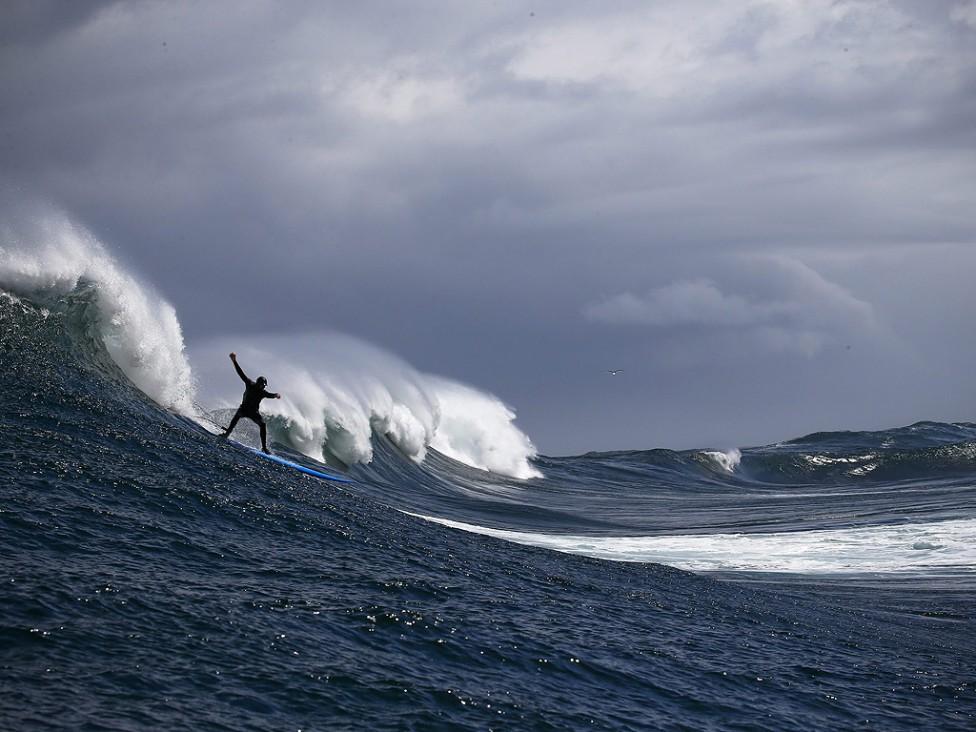- Полуостров Кейп в ЮАР. Република Южна Африка винаги е била известна като притегателен център за сърфистите.