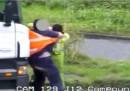 Тираджии се бият с лопата след катастрофа