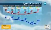 Прогноза за времето (17.01.2017 - сутрешна)