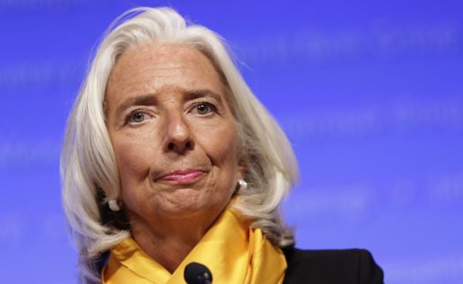 Председателят на МВФ Кристин Лагард
