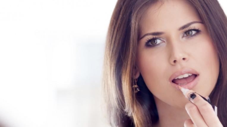 устни лице красота