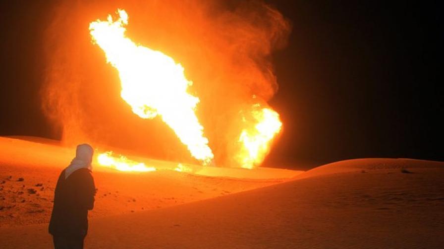 Газопровод взривен на Синайския полуостров в Египет