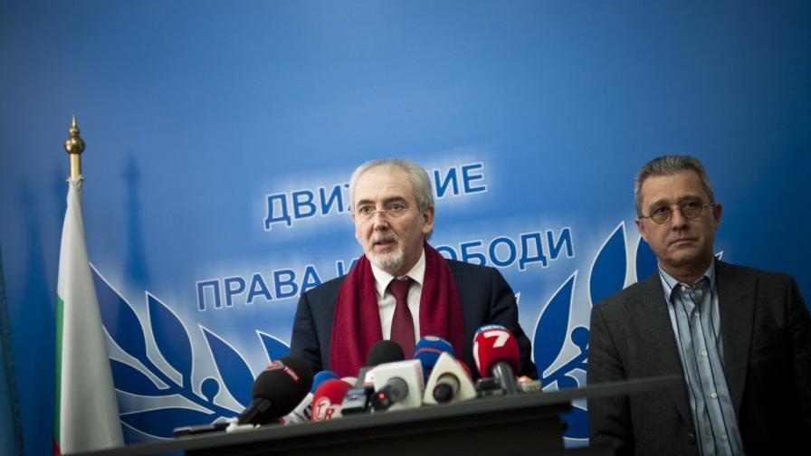 В ДПС били огорчени от действията на Реформаторския блок