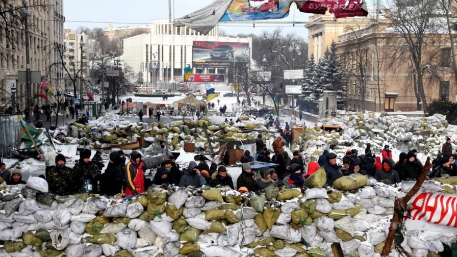 Протестиращи в Киев създадоха Национална гвардия