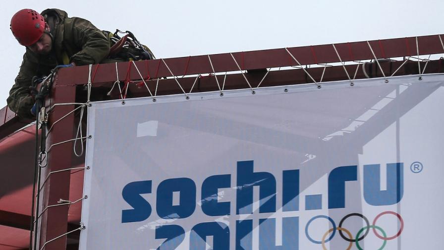 Руснаците ще гледат Олимпиадата в Сочи само по телевизията
