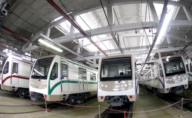 10 нови мотриси за столичното метро