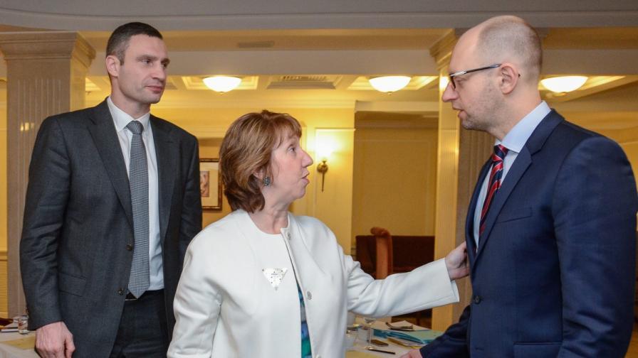 Руски вестник: Разногласия в украинската опозиция