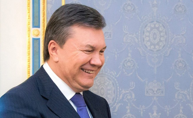 Янукович строял втора луксозна резиденция на заграбена земя