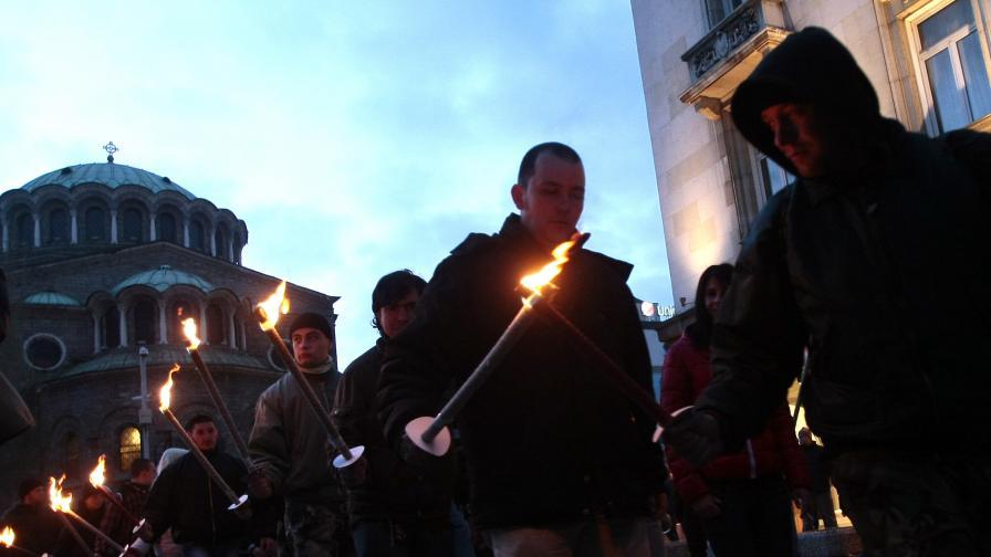 """Шествие и контра протест срещу """"Луковмарш"""""""