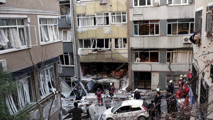 Силна експлозия разтърси Истанбул