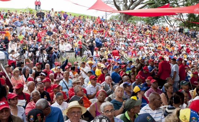 Във Венецуела пенсионери излязоха на контрапротест в защита на Мадуро