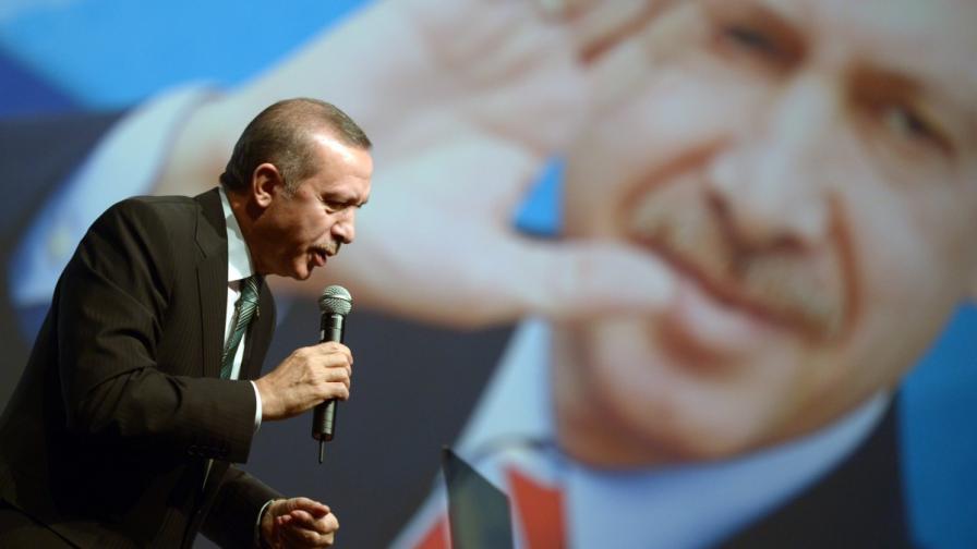 Турският премиер Реджеп Тайип Ердоган