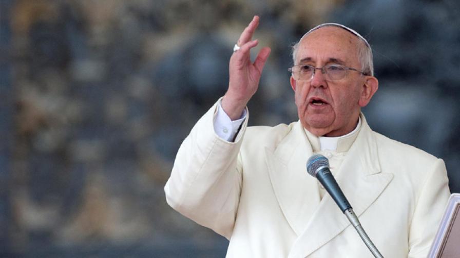 Папата псува на майка