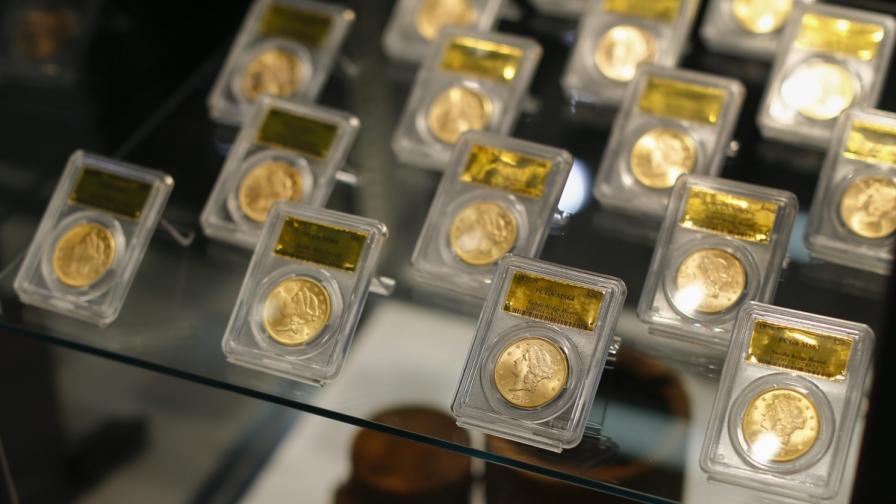 Крадени ли са златните монети, намерени в задния двор?