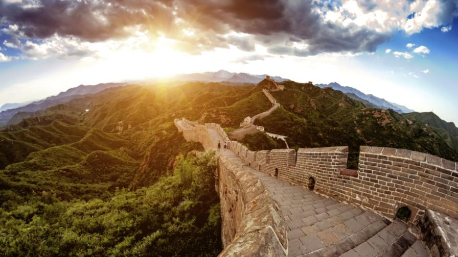Отделиха част от Великата китайска стена за графити