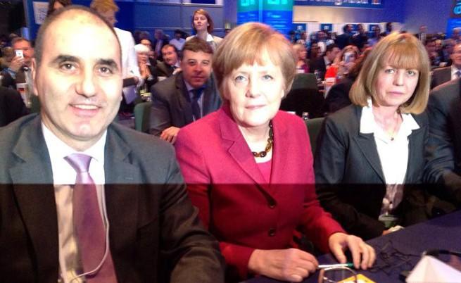 Борисов снима канцлера Меркел в Дъблин