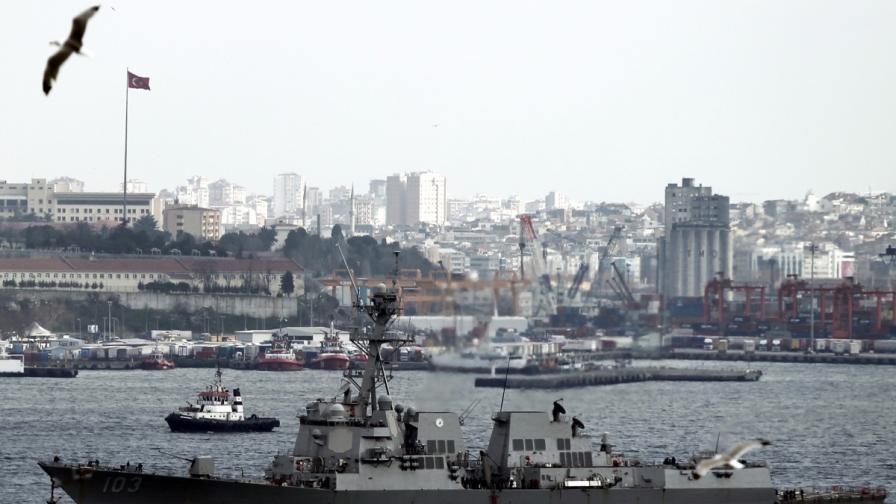 Започнаха морските маневри България-Румъния-САЩ