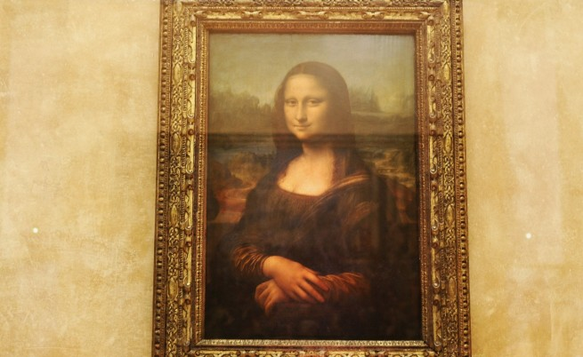 Вижте скица на голата Мона Лиза