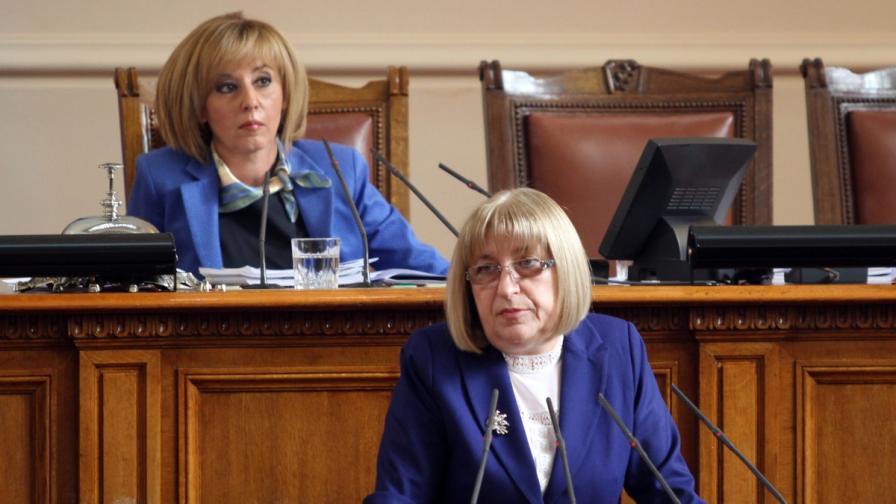 Мая Манолова и Цецка Цачева