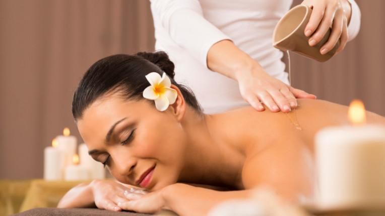 масла масаж тяло