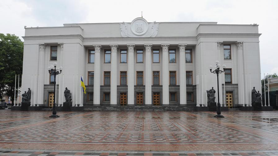Украинският парламент одобри създаването на национална гвардия