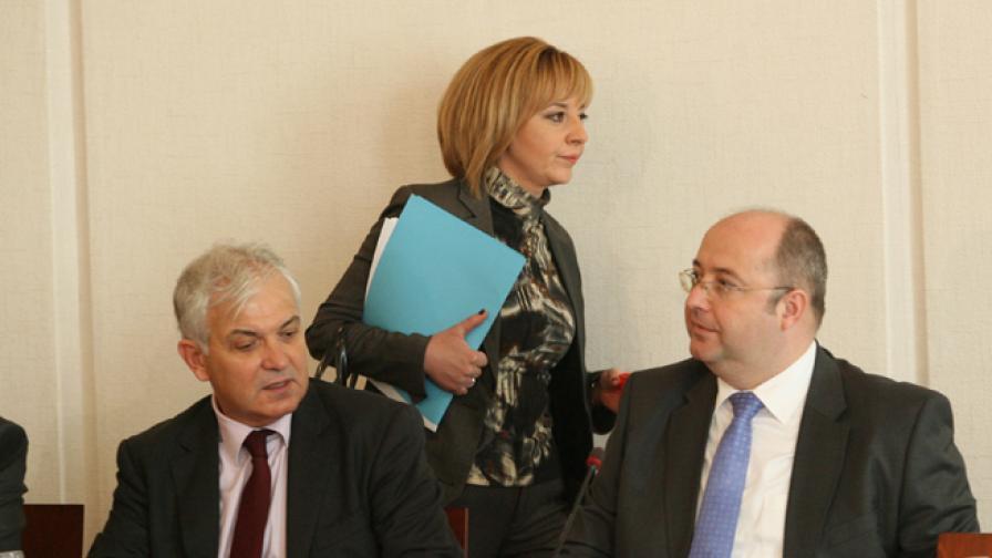 Членовете на правната комисия в НС