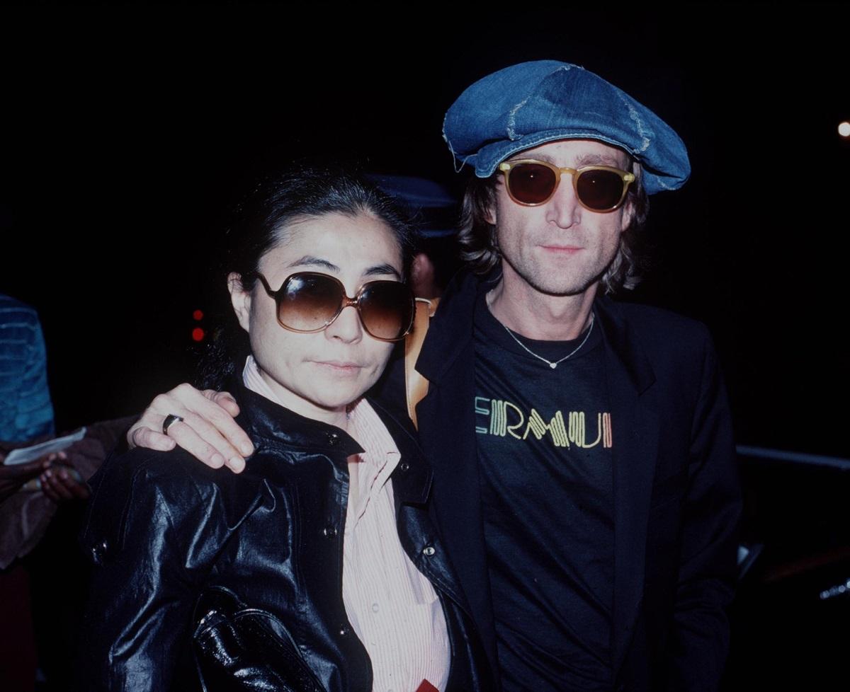 <p>Йоко Оно и Джон Ленън малко преди убийството на британския музикант през 1980 г. в Ню Йорк.</p>