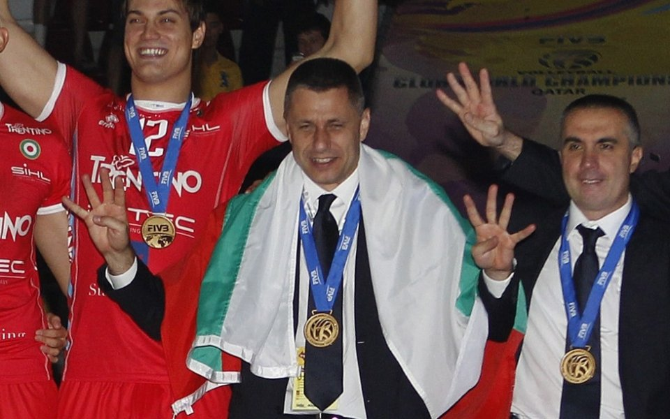 Радо Стойчев и Тренто пак закачиха българското знаме на световния връх