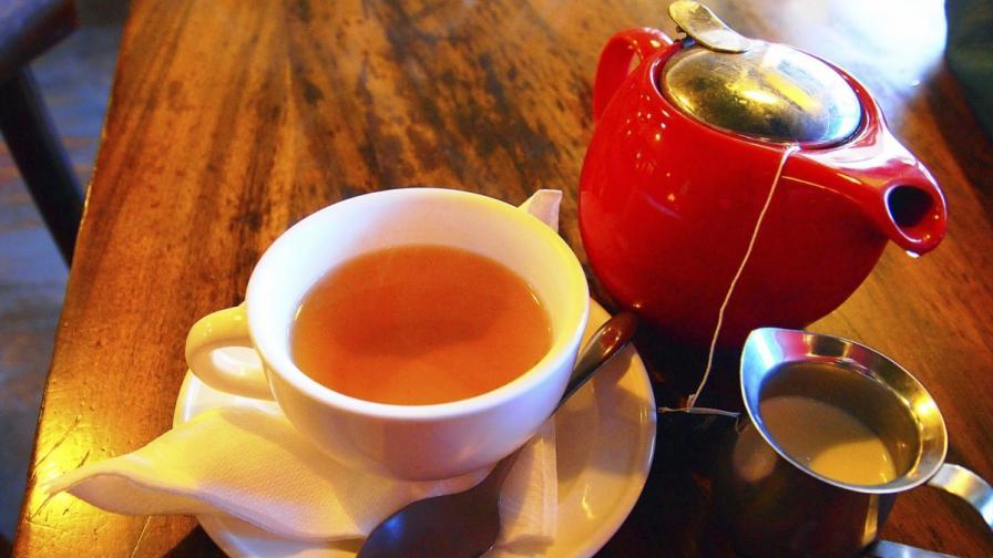 Чаша чай предпазва от сърдечни заболявания