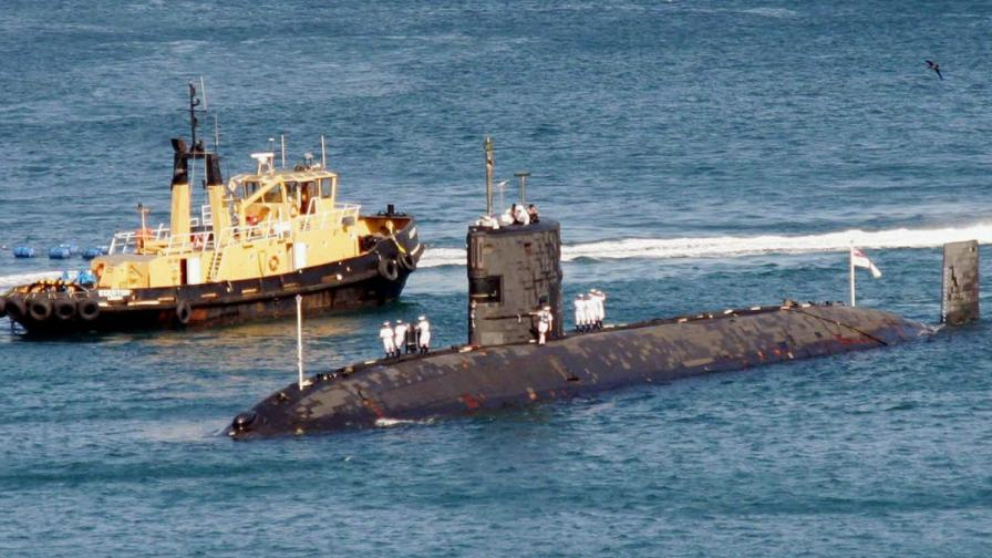 "Британската атомна подводница ""Тайърлес"""