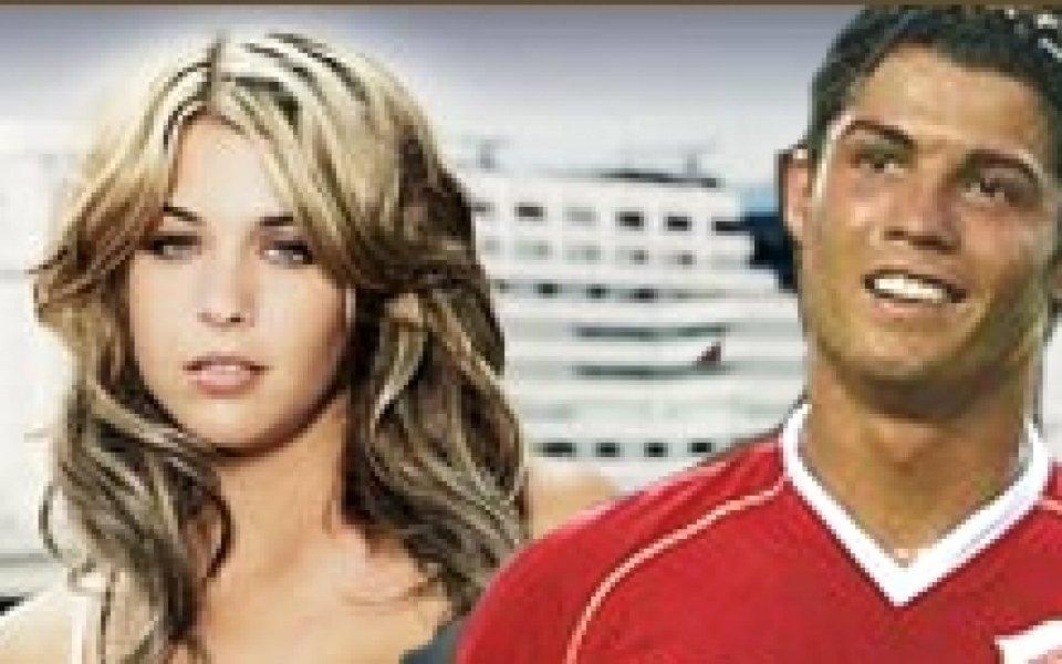 Гаджето на Кристиано Роналдо се разкрива