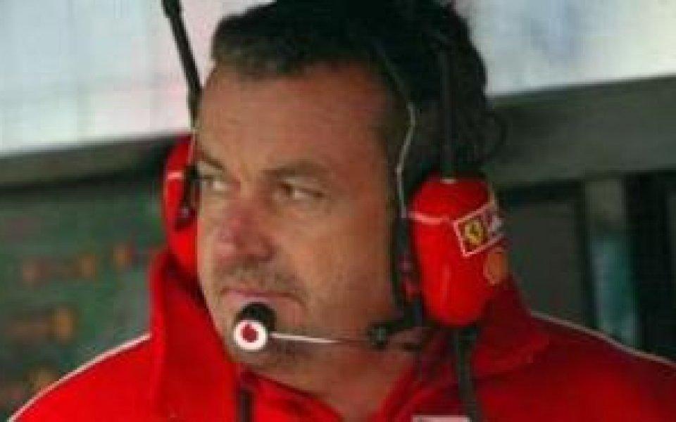 Ферари уволниха техническия си мениджър