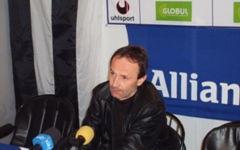 Иван Маринов: Проблемите в Спартак са психологически