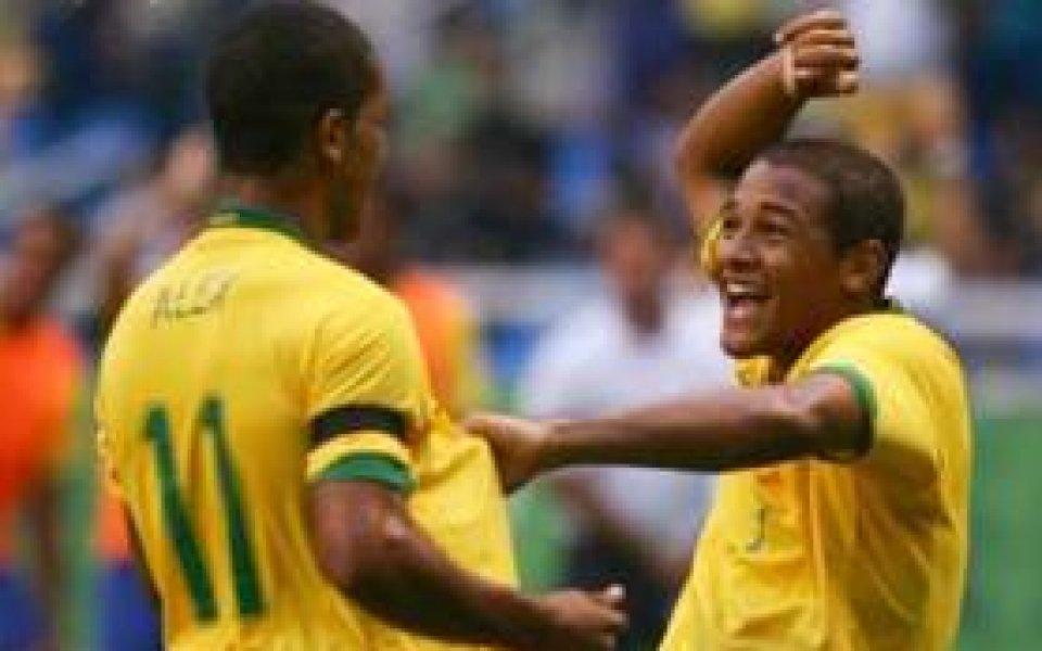 Бенфика взе капитана на юношите на Бразилия