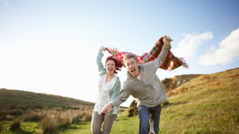 двойка любов щастие хармония природа усмивка